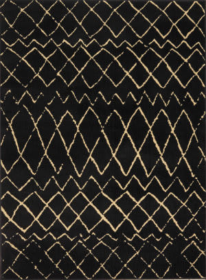 Nourison Grafix Grf04 Black Area Rug