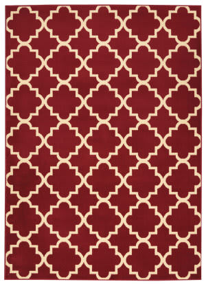 Nourison Grafix Grf08 Red Area Rug