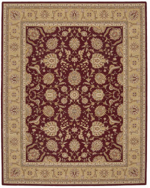 Nourison Eastern Gate GT-01 Burgundy Area Rug