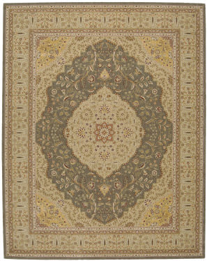 Nourison Eastern Gate GT-04 Green Area Rug