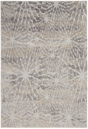 Nourison Silky Textures Sly07 Ivory - Beige Area Rug