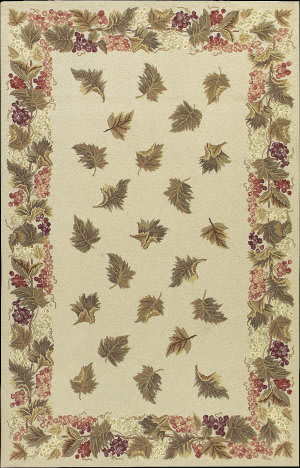 Nourison Country Heritage H-616 Beige Area Rug