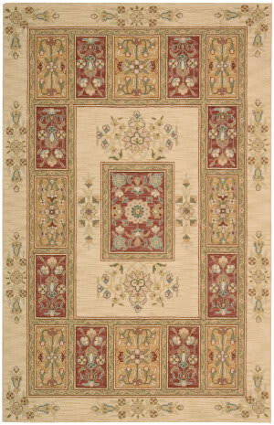 Nourison Country Heritage H-696 Beige Area Rug
