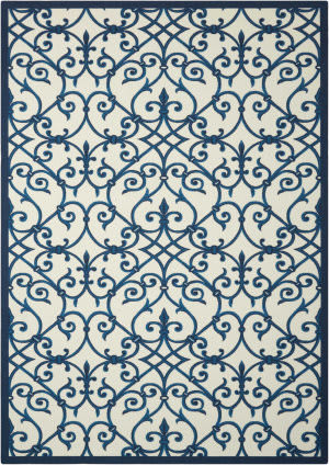 Nourison Home And Garden Rs093 Blue Area Rug