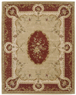 Nourison Heritage Savonnerie HS-02 Gold Area Rug