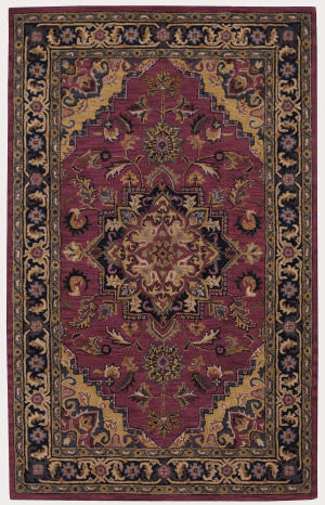 Nourison India House IH-02 Rust Area Rug