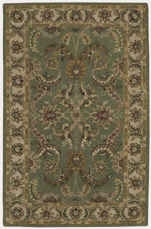 Nourison India House IH-18 Green Area Rug