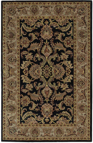 Nourison India House Ih-48 Black Area Rug