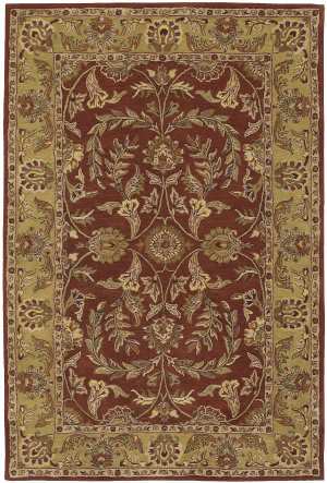 Nourison India House IH-58 Rust Area Rug