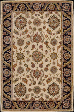 Nourison India House IH-60 Beige Area Rug