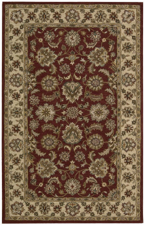 Nourison India House IH-72 Red Area Rug