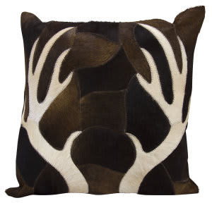 Nourison Mina Victory Pillows Ik056 Chocolate
