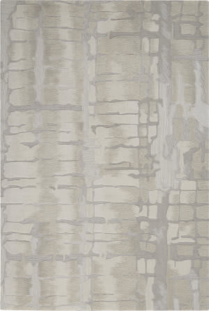 Nourison Symmetry Smm04 Ivory - Beige Area Rug
