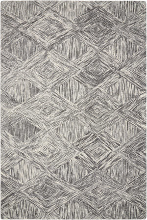 Nourison Interlock Itl01 Charcoal Area Rug