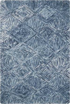 Nourison Interlock Itl01 Denim Area Rug