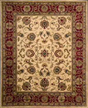 Nourison Jaipur JA-14 Light Gold Area Rug