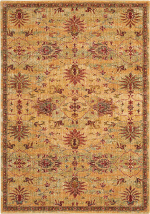Nourison Vintage Tradition Vgt02 Cream - Red Area Rug