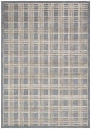 Kathy Ireland Ki01 Hollywood Shimmer Mission Craft Ki102 Blue Area Rug