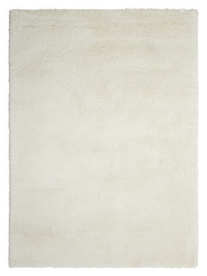 Kathy Ireland Ki22 Yummy Shag Yum01 White Area Rug