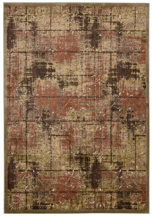 Kathy Ireland Ki03 Bel Air Montecito Ki305 Brown Area Rug