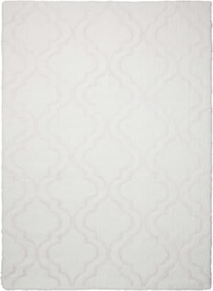 Kathy Ireland Ki30 Light And Airy Kit01 White Area Rug