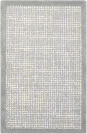 Kathy Ireland Ki31 River Brook Ki809 Light Blue - Ivory Area Rug