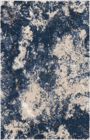Kathy Ireland Heritage Ki355 Beige Blue Area Rug