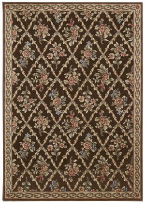 Kathy Ireland Ki05 Villa Retreat Washington Estate Ki500 Chocolate Area Rug