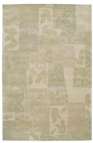 Nourison Kalahari KL07 Light Green Area Rug