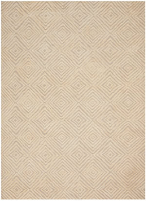 Nourison Modern Deco Mdc01 Taupe - Ivory Area Rug