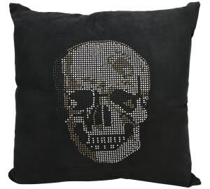Nourison Luminescence Pillow L1293 Black