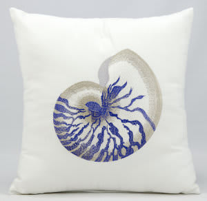 Nourison Pillows Outdoor L1298 White