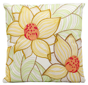 Nourison Pillows Outdoor L3161 White