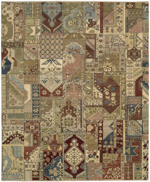 Nourison Legend Ld05 Multicolor Area Rug