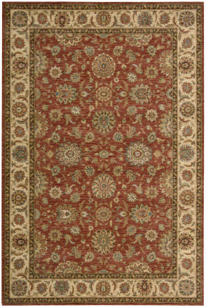 Nourison Living Treasures LI-05 Rust Area Rug