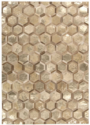 Michael Amini Ma01 City Chic Ma100 Amber Gold Area Rug