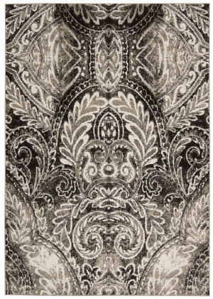 Michael Amini Glistening Nights Ma501 Light Grey Area Rug