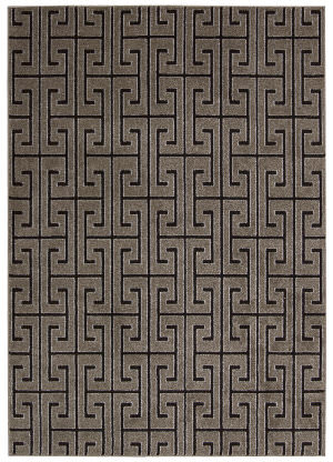 Michael Amini Glistening Nights Ma507 Grey Area Rug