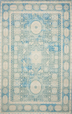 Nourison Madera Mad03 Teal Area Rug