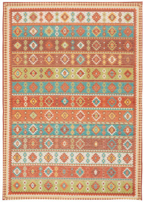 Nourison Madera Mad08 Light Orange Area Rug