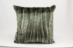 Nourison Pillows Fur N9551 Green