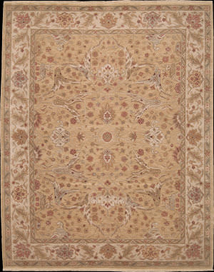 Nourison Ancestry NA-01 Light Gold Area Rug