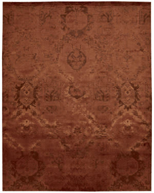 Nourison Nightfall Ngt01 Flame Area Rug