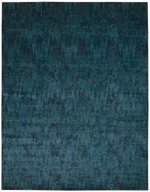 Nourison Nightfall Ngt03 Peacock Area Rug