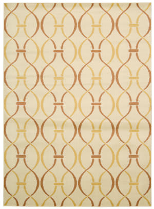 Nourison Nova Nov03 Ivory Yellow Area Rug