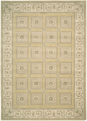 Nourison Newport NW-06 Gold Area Rug