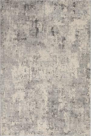 Nourison Rustic Textures Rus07 Grey - Beige Area Rug