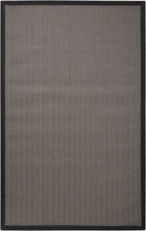 Nourison Outerbanks Hattr Black Pearl Area Rug