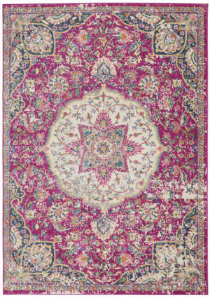 Nourison Passion Psn22 Pink Area Rug