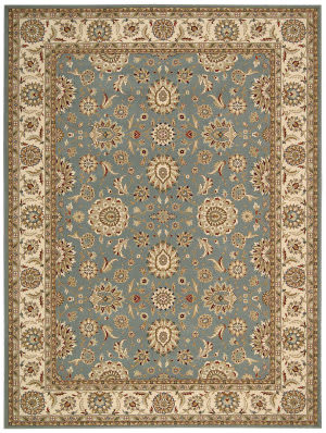 Nourison Persian Crown Pc002 Blue Area Rug